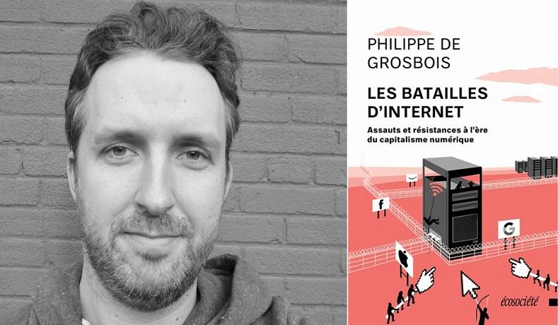 Philippe_DeGrosbois enseignant auteur livre LesBataillesdInternet photos courtoisie via LaFactrie
