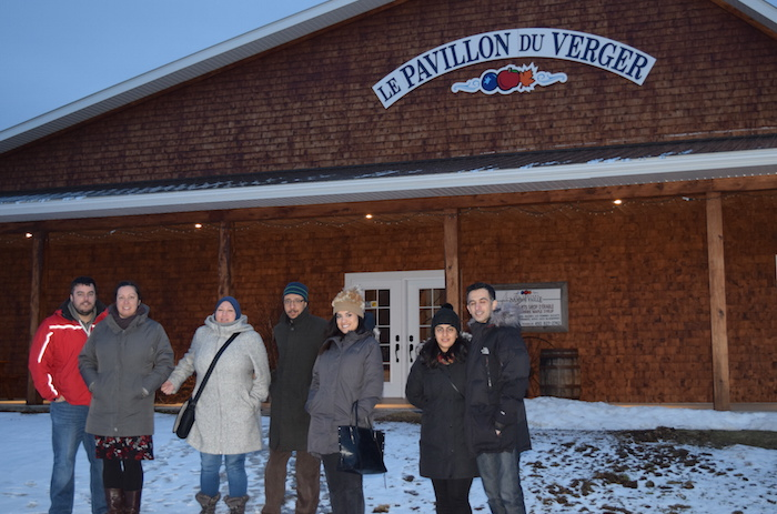 Place aux jeunes 2018 visite Pavillon du Verger photo courtoisie CLD HSL