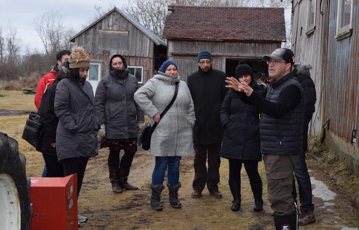 Place aux jeunes 2018 visites producteur agricole photo via CLD HSL