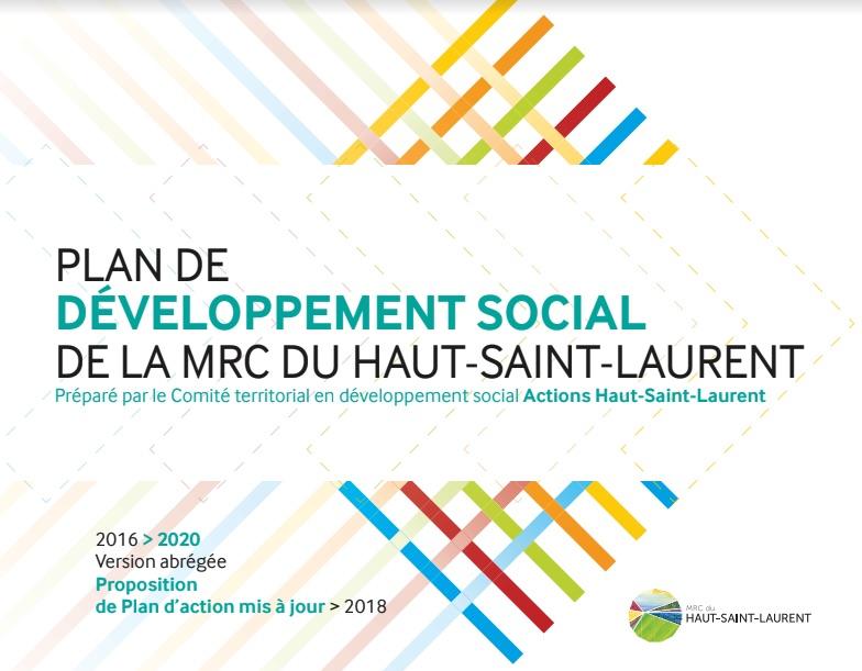 Plan developpement social 2016 MRC Haut-Saint-Laurent visuel courtoisie
