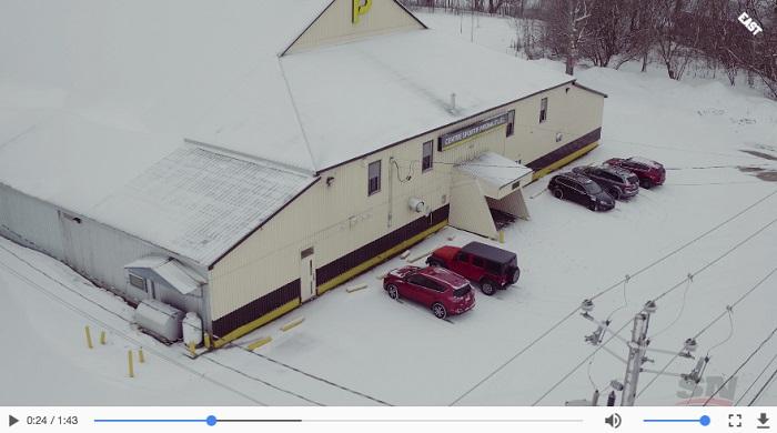 arena regional Huntingdon centre sportif Promutuel extrait Video Hockeyville 2018