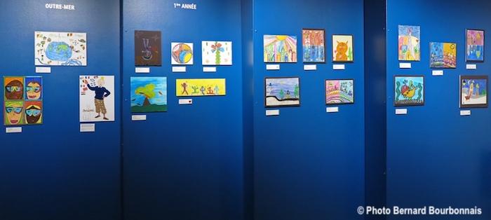 exposition artistes en herbe 2018 salle Leger photo BernardBourbonnais via MRVS