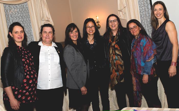 femmes de tete 2018 avec deputee AnneQuach photo courtoisie publiee par INFOSuroit