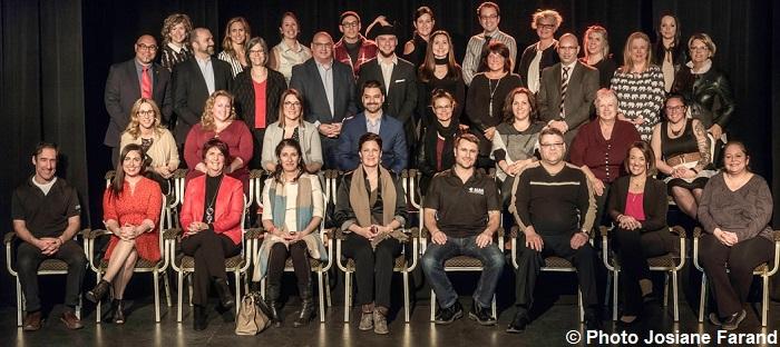 finalistes Ovations Vaudreuil-Soulanges 2018 Photo Josiane_Farand via Eklosion