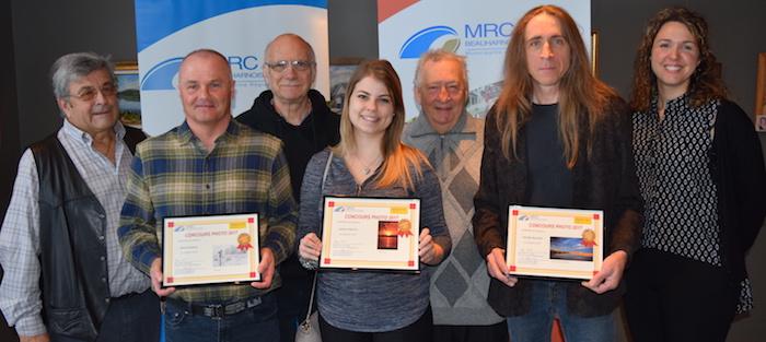gagnants concours photo MRC 2017 avec jury photo courtoisie MRC
