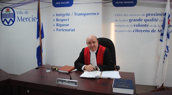 juge SylvainDorais 5 mars 2018 Cour municipale Mercier photo courtoisie VM