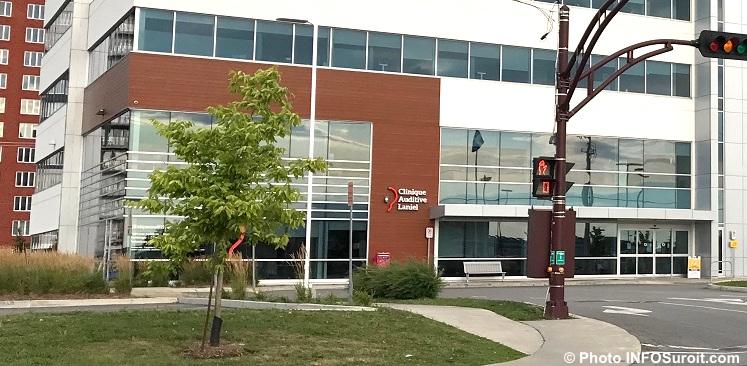 Clinique auditive Laniel avec centre ambulatoire CLSC Vaudreuil-Dorion photo INFOSuroit