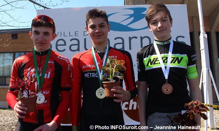 Criterium Beauharnois 2018 course velo podium minimes homme Photo INFOSuroit-Jeannine_Haineault