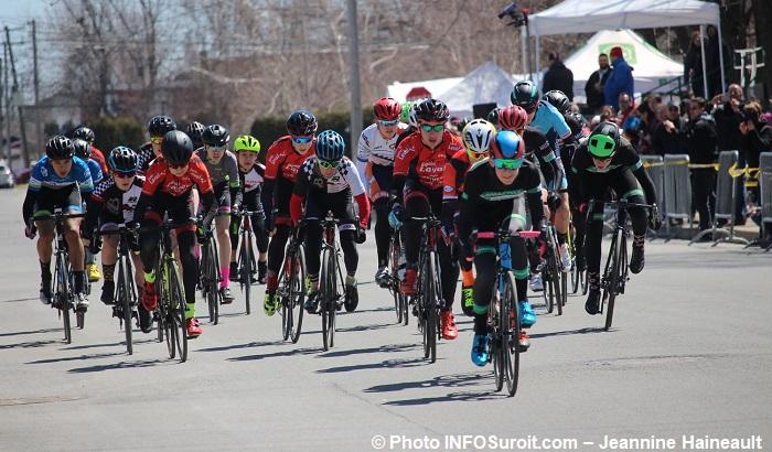 Criterium Beauharnois 2018 cyclistes depart velo Photo INFOSuroit-Jeannine_Haineault