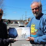Criterium Beauharnois 2018 remise plaque par maire Bruno_Tremblay Photo INFOSuroit-Jeannine_Haineault