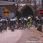 Grand Prix Cycliste Ste-Martine 22avr2018 groupe de cyclistes photo INFOSuroit-Jeannine_Haineault