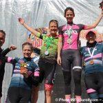 Grand Prix cycliste Ste-Martine 2018 velo podium femmes Senior2 photo INFOSuroit-Jeannine_Haineault