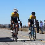 Grand Prix cyclistes Ste-Martine 2018 velo course arrivee femmes photo INFOSuroit-Jeannine_Haineault