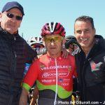 Grand prix cycliste Ste-Martine 2018 velo ACharlebois Czeslaw_Lukaszewicz patron de Veloselect et ministre SBillette photo INFOSuroit-Jeannine_Haineault