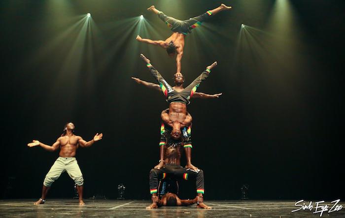 Kalanbante en spectacle cirque danse et musique photo courtoisie Festival de cirque Vaudreuil-Dorion