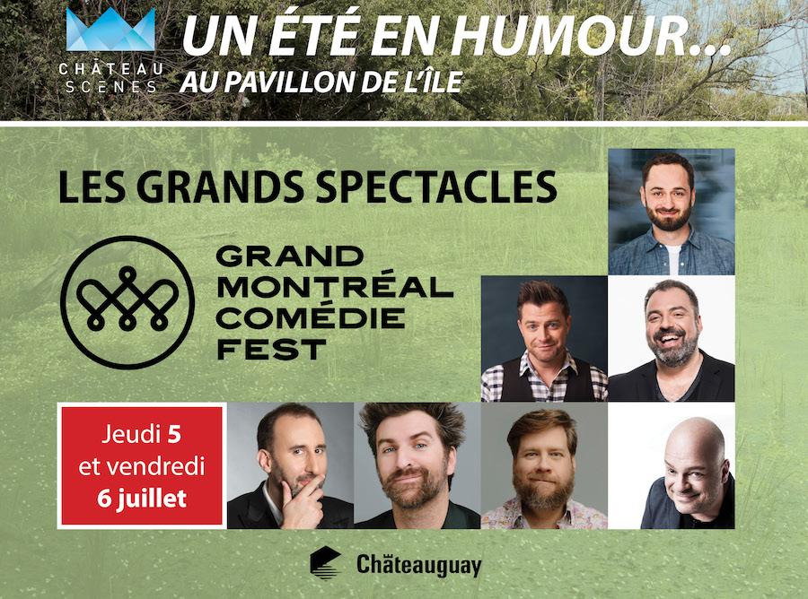 humour au Pavillon de _l_ile Grands spectacles Grand Mtl Comedie Fest courtoisie VC