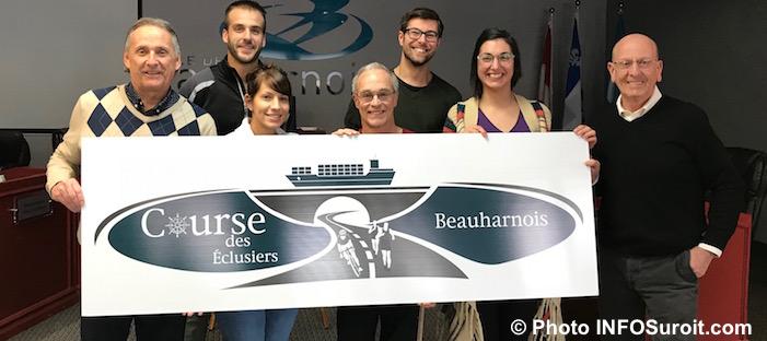 partenaires Course des Eclusiers de Beauharnois 2018 photo INFOSuroit