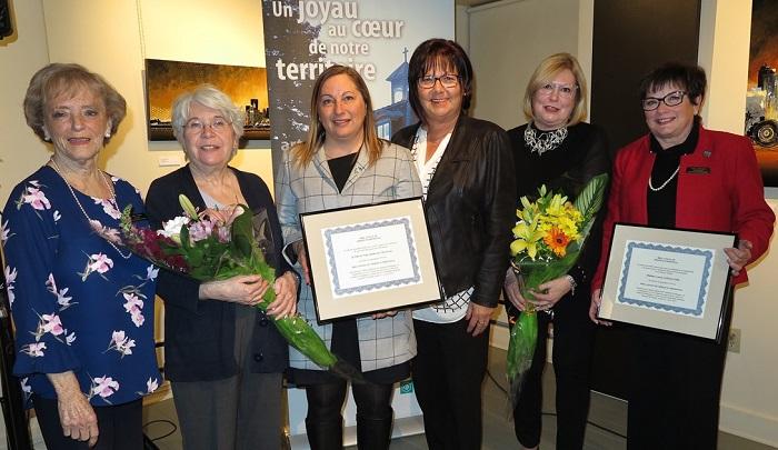 remise deux prix Merite patrimonial 2018 du Musee regional VS photo courtoisie MRVS