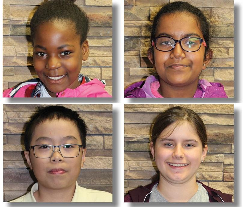 4 des 8 jeunes du conseil d_un jour 2018 a Vaudreuil-Dorion photo courtoisie VD