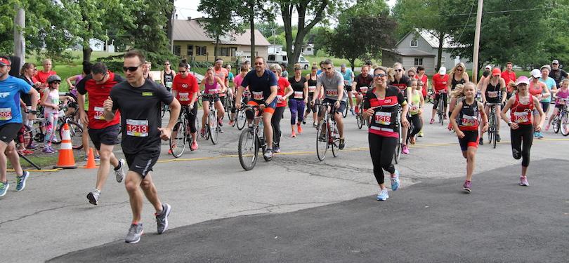 Bike and run St-Louis-de-Gonzague photo courtoisie publiee par INFOSuroit