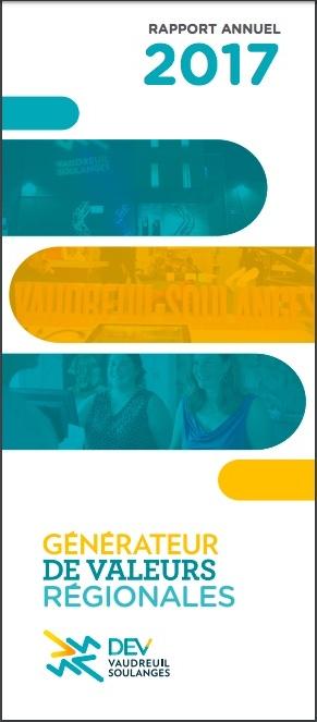 DEV Vaudreuil-Soulanges Rapport annuel 2017 presentation