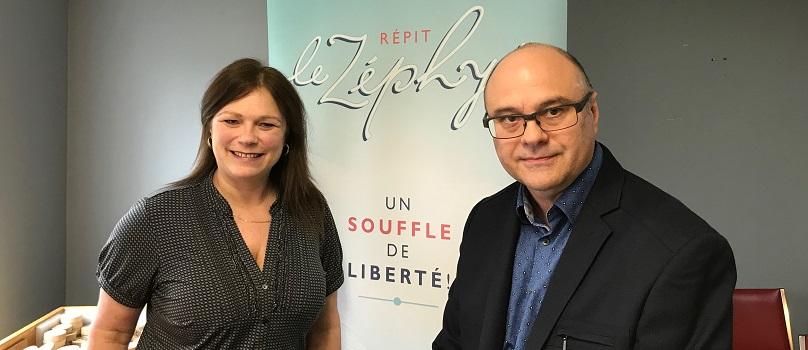 Isabelle_Corbeil et Yves_Trottier Repit Le_Zephyr mai2018 photo INFOSuroit
