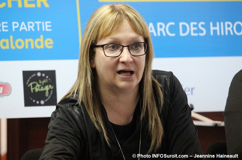 Lise_Michaud mairesse Ville Mercier mai 2018 photo INFOSuroit-Jeannine_Haineault