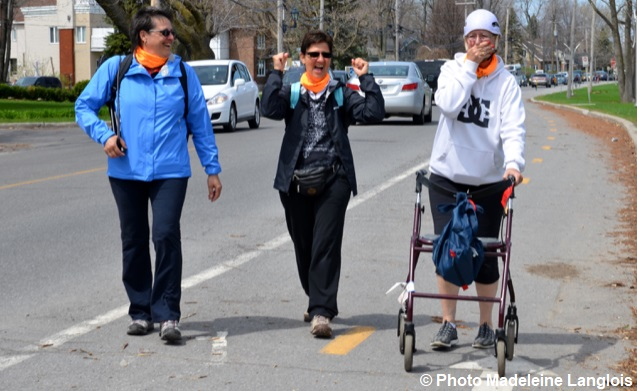 Marche 2018 Maison soins palliatifs VS Deborah_Smith photo Madeleine_Langlois via MSPVS et INFOSuroit
