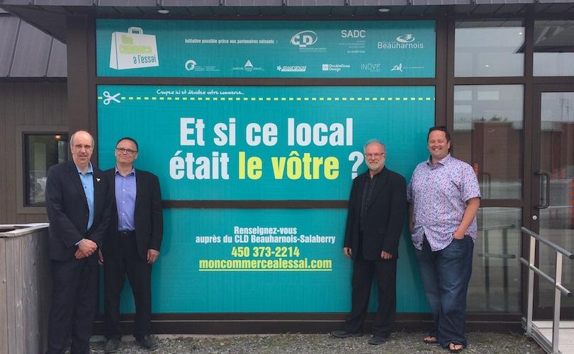 Mon_commerce_a_l_essai a Beauharnois les partenaires photo courtoisie CLD publiee par INFOSuroit