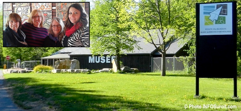 Pointe-du-Buisson Musee quebecois archeologie photo INFOSuroit et artistes 4 voisines