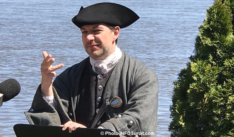 Seigneuriales 2018 porte-parole Eric_Michaud le Roy des menteurs 2011 photo INFOSuroit