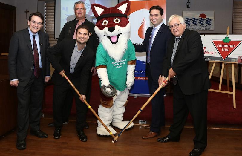annonce des jeux_d_hiver olympiques speciaux Qc 2019 le 23 mai2018 hotel de ville Valeyfield photo courtoisie