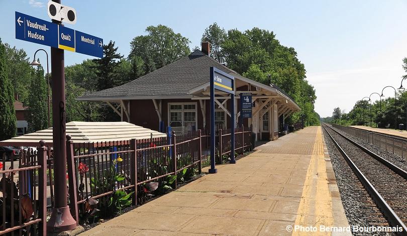 circuit patrimonial gare Dorion chemin de fer photo Bernard_Bourbonnais via Musee regional VS
