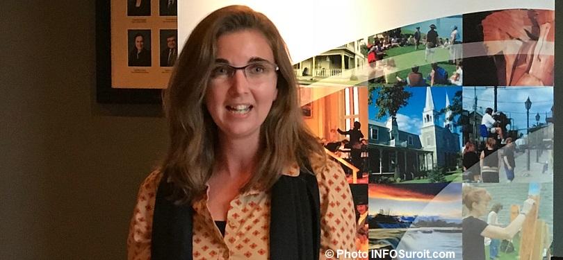Maude_Laberge prefete MRC et mairesse Ste-Martine oct2017 Photo INFOSuroit