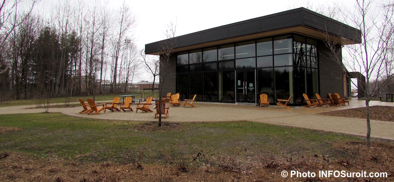 nouveau chalet Centre ecologique Fernand-Seguin a Chateauguay avr2018 photo INFOSuroit - copie