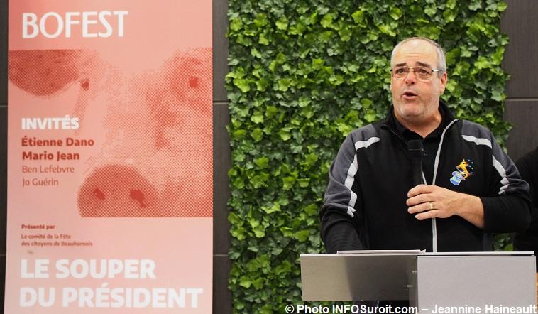 president Bofest Claude_Lemieux annonce souper benefice 12 mai photo INFOSuroit-Jeannine_Haineault