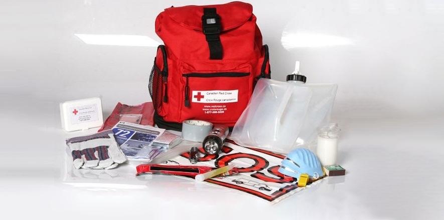 trousse pour urgence croix rouge canadienne photo courtoisie