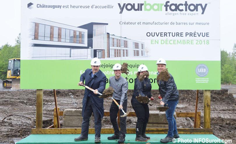 4juin2018 pelletee de terre Yourbarfactoery dans le parc industriel Chateauguay photo INFOSuroit