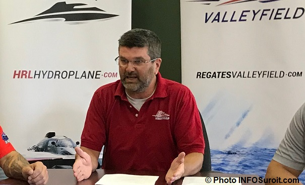 DidierSeguin directeur courses Regates Valleyfield 28juin2018 photo INFOSuroit