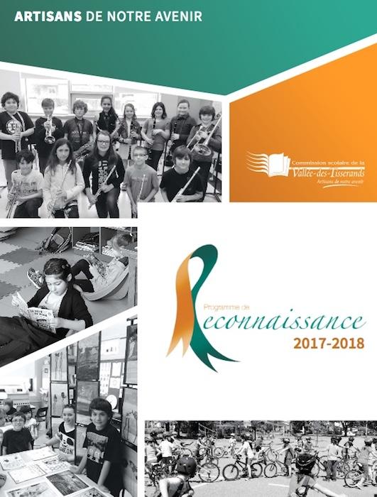 Programme souvenir Reconnaissance 2017-2018 CSVT image courtoisie