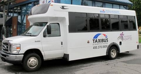 autobus transport adapte Salaberry-de-Valleyfield taxibus photo courtoisie SdV