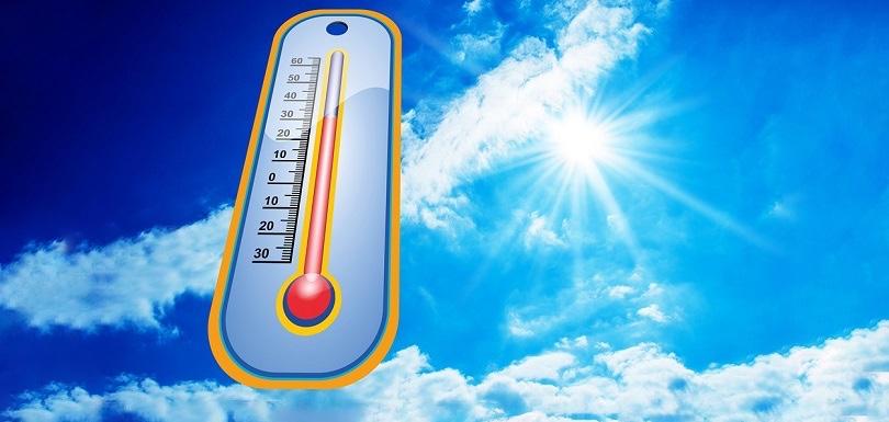 chaleur canicule soleil thermometre photo et visuel Stux via Pixabay CC0 et INFOSuroit_com