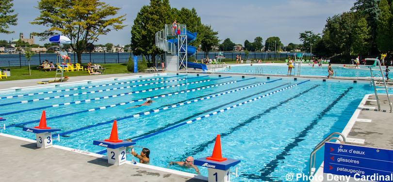 complexe aquatique piscine parc Sauve Valleyfield pique-nique lecture saison estivale Photo Deny_Cardinal via SdV et INFOSuroit