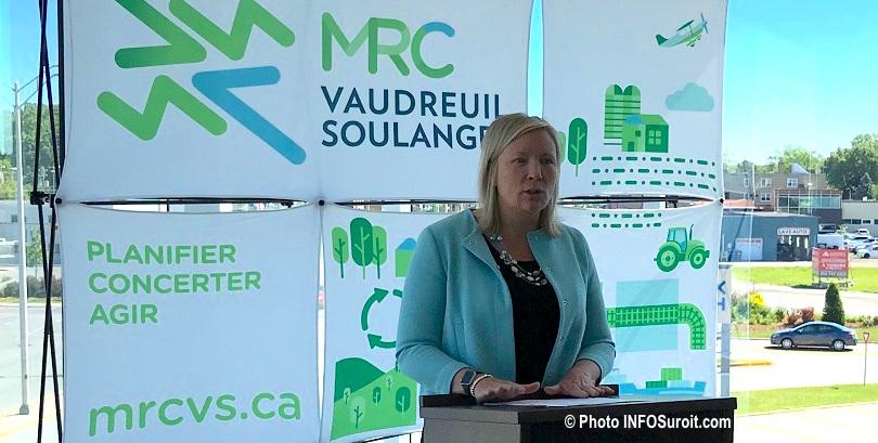 deputee Vaudreuil Marie-Claude_Nichols a la MRC VS 21juin2018 photo INFOSuroit