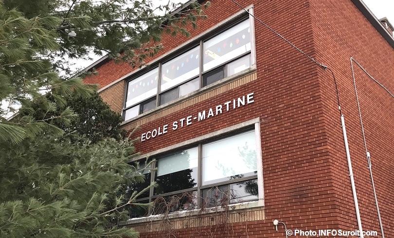 ecole Sainte-Martine facade photo INFOSuroit