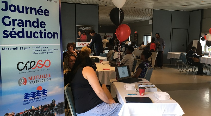 emplois immigration Journee Grande seduction 13juin2018 a Valleyfield photo courtoisie Mutuelle_d_attraction