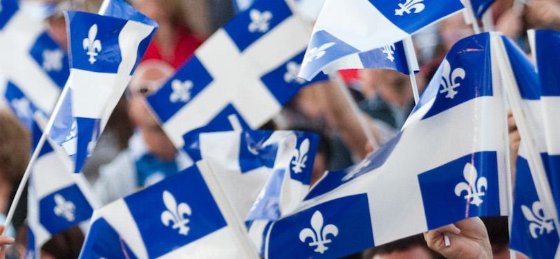 fete nationale du Quebec drapeau fleur de lys visuel courtoisie FNQ