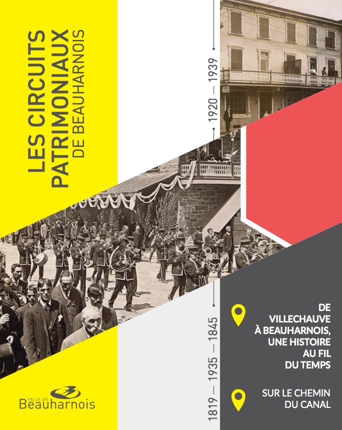 guide circuits patrimoniaux Ville Beauharnois lancement juin 2018 visuel courtoisie