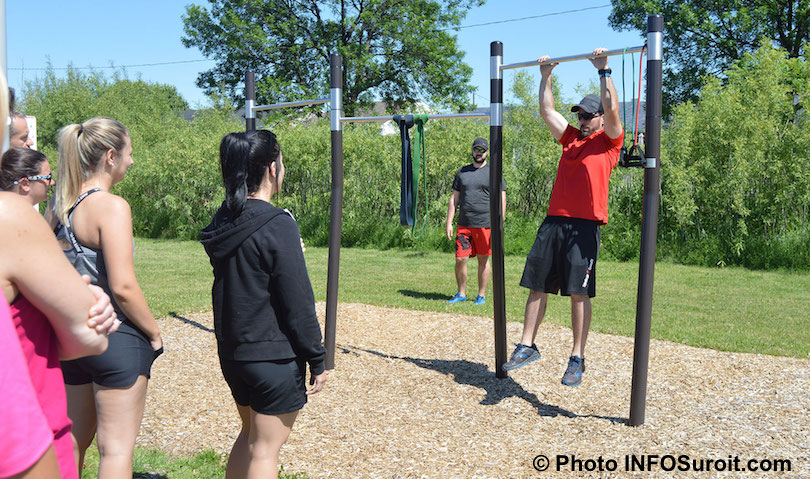 inauguration site entrainement a Valleyfield juin 2018 photo INFOSuroit