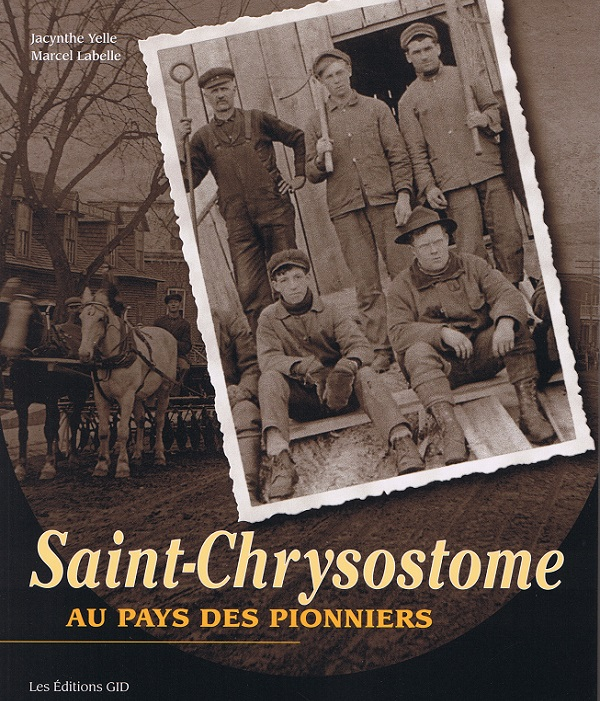 livre Saint-Chrysostome pionniers couverture avant visuel courtoisie ML